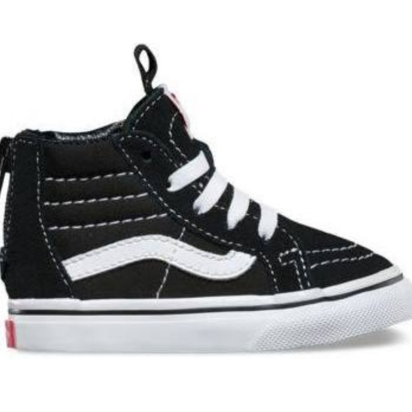 3f0190eb69 Vans for Toddlers. Old Skool Vans High Top. 6c. M 5b86d57a7386bc7d284cad37
